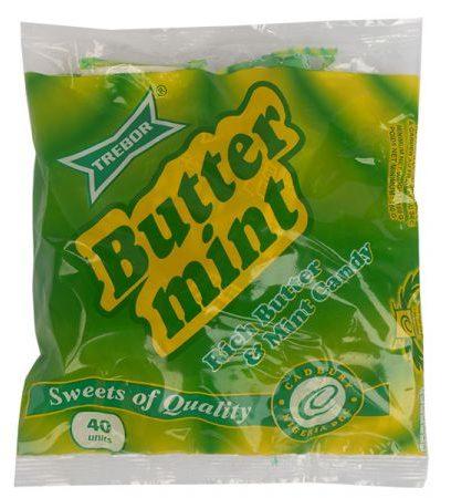 Butter mint sweet