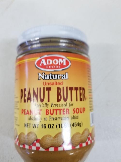 Adom Peanut Butter - royacshop.com