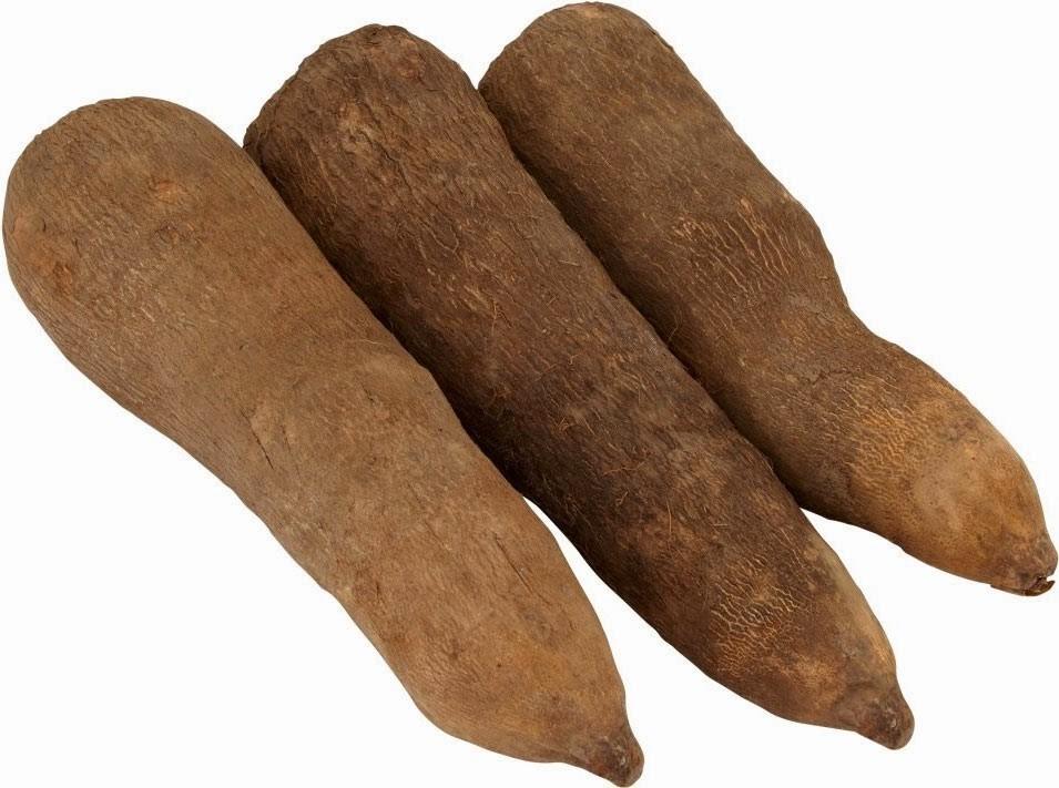 African Fresh Yams From Ghana(3 Tubers)