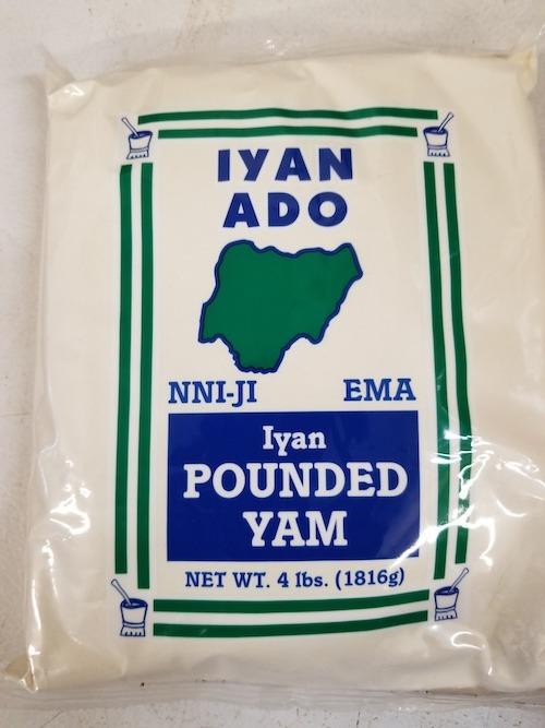 Iyan Ado Pounded Yam Flour 4Lbs - royacshop.com