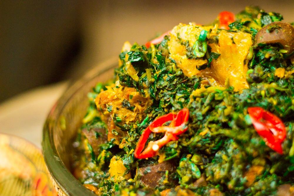 Nigerian Edikang Ikong Soup