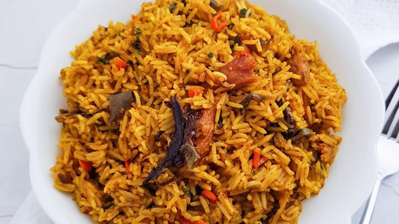 How To Prepare Nigerian Banga Rice