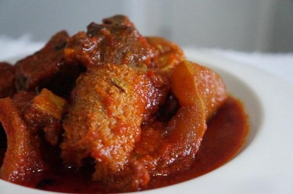 How to Prepare Palm Oil Stew
