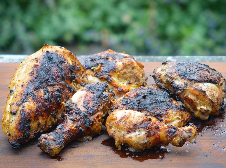 How to Make Grilled Jerk Chicken
