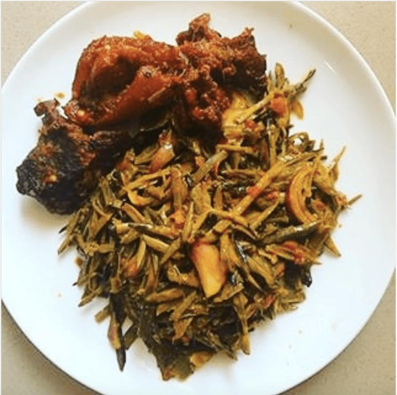 Ugba Sauce (African Oil-Bean Seed)