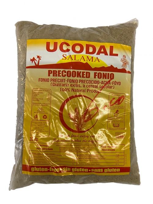 Ucodal Salama Pre-cooked Fonio | Precuit-Fonio